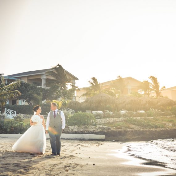 cancun destination wedding photos