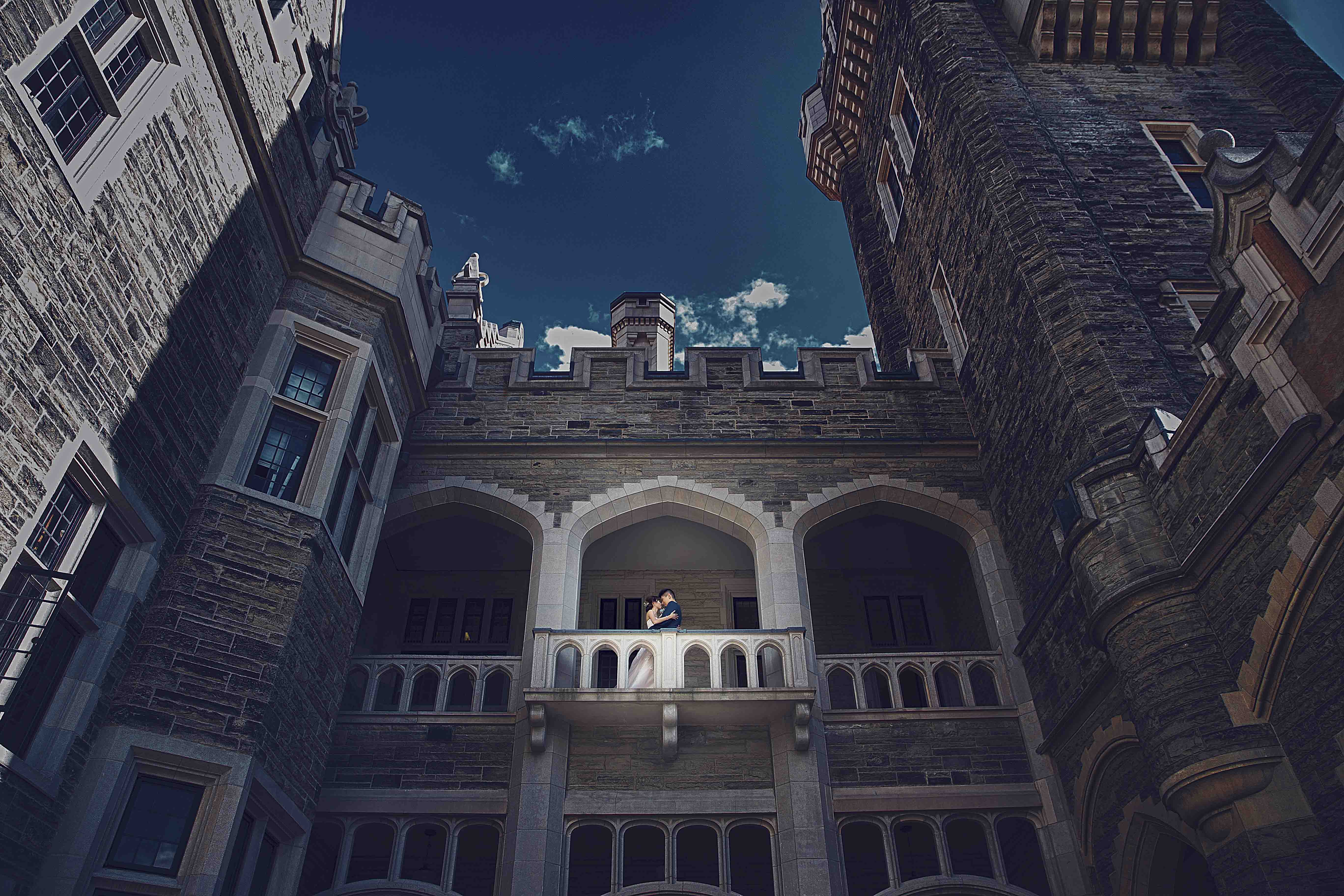casa loma wedding photos