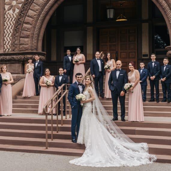 paramount event space wedding photos