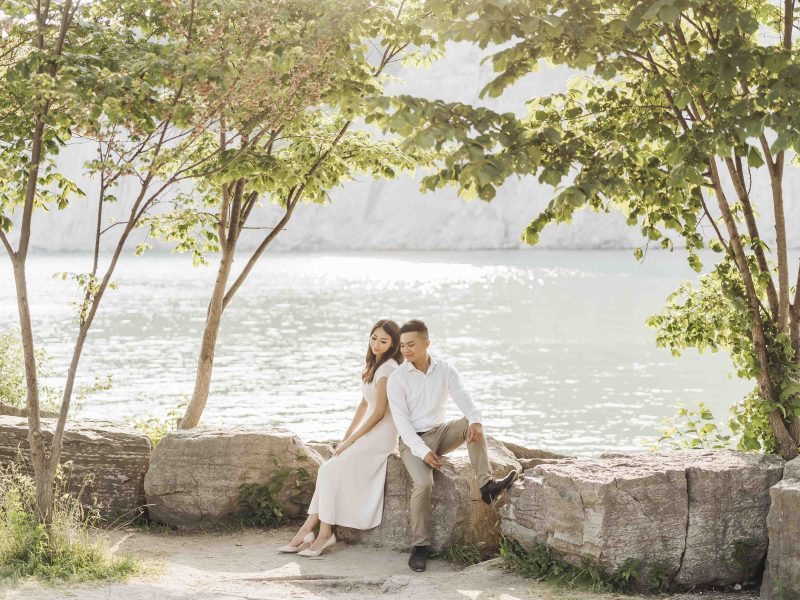 Scarborough Bluffs Engagement Session