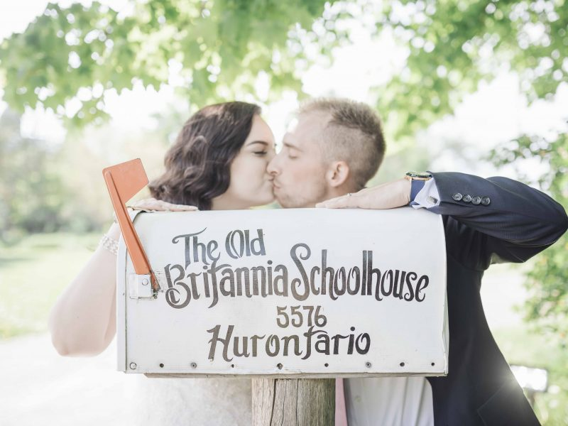 Old Britannia School House Wedding Photos