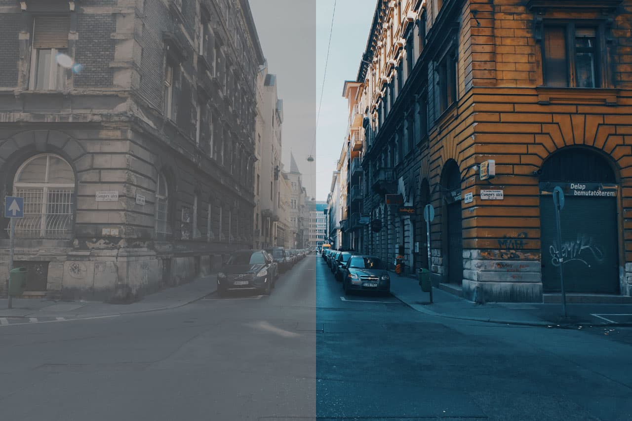 Luts for color grading