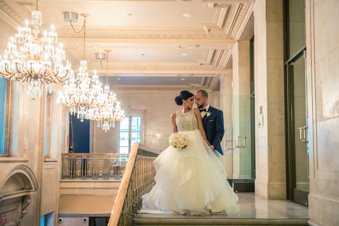 one king west wedding photos